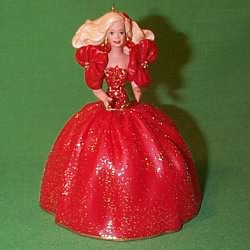 Barbies - Holiday Barbies Hallmark Ornaments