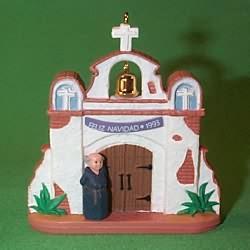 1993 Feliz Navidad Hallmark Ornament