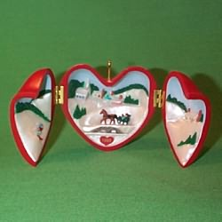 1993 Heart Of Christmas #4 Hallmark Ornament