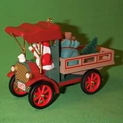 1993 Here Comes Santa #15 - Happy Haulidays Hallmark Ornament