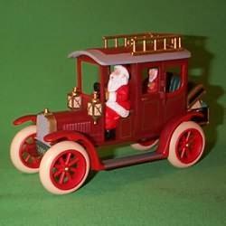 1993 Here Comes Santa - Anniversary Hallmark Ornament