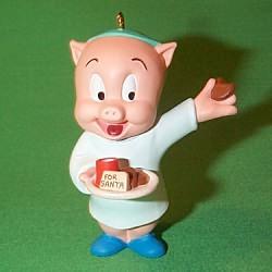 1993 Lt - Porky Pig Hallmark Ornament