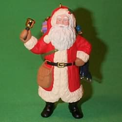 1993 Merry Olde Santa #4 Hallmark Ornament