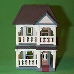 1993 Nostalgic Houses #10 - Cozy Home Hallmark Ornament