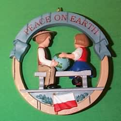 1993 Peace On Earth #3f - Poland Hallmark Ornament