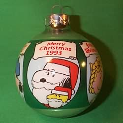 1993 Peanuts Hallmark Ornament