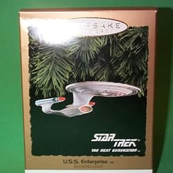 1993 Star Trek Next Generation Enterprise Hallmark Ornament
