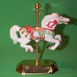 1993 Tobin Fraley Carousel #2 Hallmark Ornament