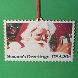 1993 U.s. Christmas Stamp #1 - NB Hallmark Ornament