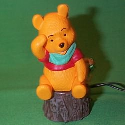1993 Winnie Pooh Lighted Hallmark Ornament