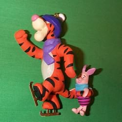 1993 Winnie The Pooh - Tigger And Piglet Hallmark Ornament