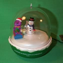 1994 Barney - Lighted Hallmark Ornament