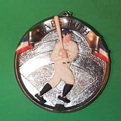 Baseball Heroes Hallmark Ornaments