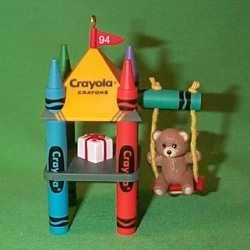 1994 Crayola #6 - Swing Hallmark Ornament