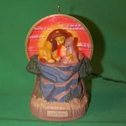 1994 Disney - Lion King - Light And Music - SDB Hallmark Ornament