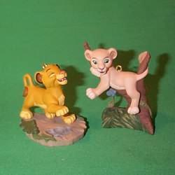 1994 Disney - Lion King-simba And Nala Hallmark Ornament