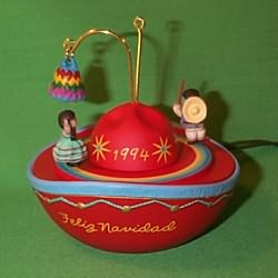 1994 Feliz Navidad - Lighted Hallmark Ornament