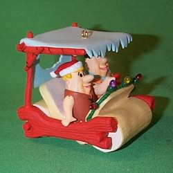1994 Fred And Barney Hallmark Ornament