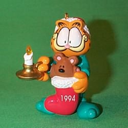 1994 Garfield Hallmark Ornament