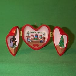 1994 Heart Of Christmas #5f Hallmark Ornament