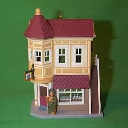 1994 Nostalgic Houses #11 - Drugstore Hallmark Ornament