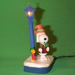 1994 Peanuts Lighted #4 Hallmark Ornament
