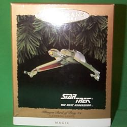 1994 Star Trek - Klingon Bird Of Prey - SDB Hallmark Ornament