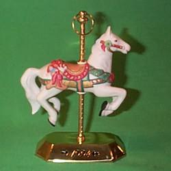 1994 Tobin Fraley Carousel  #3 Hallmark Ornament