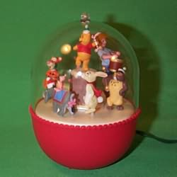 1994 Winnie The Pooh - Lighted Hallmark Ornament