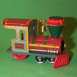 1994 Yuletide Central #1 - Locomotive - NB Hallmark Ornament
