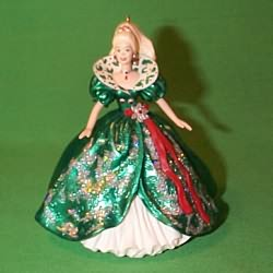 1995 Barbie - Holiday  #3 - SDB Hallmark Ornament