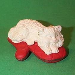 1995 Cat Naps #2 Hallmark Ornament