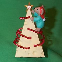 1995 Chris Mouse #11 - Tree Hallmark Ornament