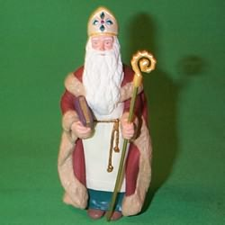 1995 Christmas Visitors #1 - St Nicholas Hallmark Ornament