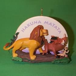 1995 Disney - Lion King Hallmark Ornament