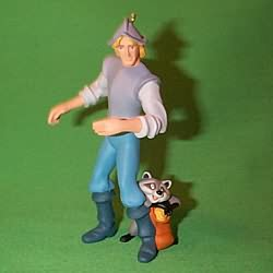 1995 Disney - Pocahontas - John Smith Hallmark Ornament