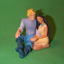 1995 Disney - Pocohontas - Pocahontas And John Hallmark Ornament