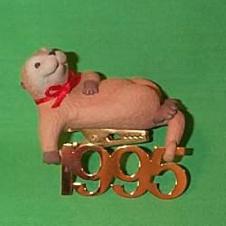 1995 Fabulous Decade #6 - Otter Hallmark Ornament