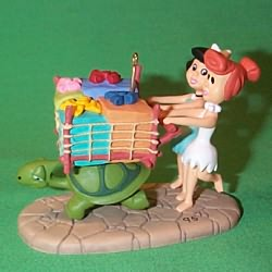 1995 Flintstones - Betty And Wilma Hallmark Ornament