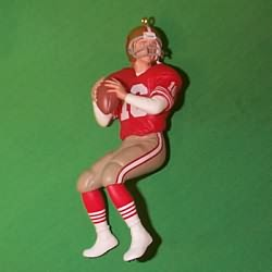1995 Football #1 - Joe Montana Hallmark Ornament