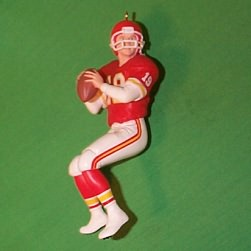 1995 Football  - Joe Montana - Kc Hallmark Ornament