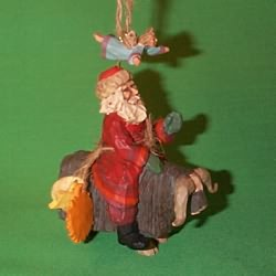 1995 Guiding Santa Hallmark Ornament