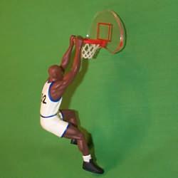 1995 Hoop Stars #1 - Shaq O'neal Hallmark Ornament