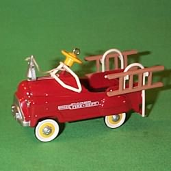 1995 Kiddie Car Classic #2 - Fire Truck Hallmark Ornament