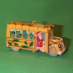 1995 Magic School Bus Hallmark Ornament