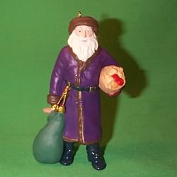 1995 Merry Olde Santa #6 Hallmark Ornament