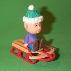 1995 Peanuts Gang #3 - Linus Hallmark Ornament