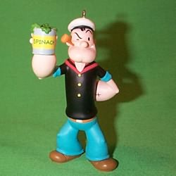 1995 Popeye Hallmark Ornament