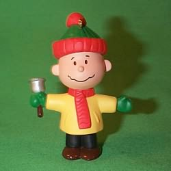 1995 Promo - Charlie Brown Hallmark Ornament