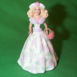 1995 Springtime Barbie #1 - SDB Hallmark Ornament